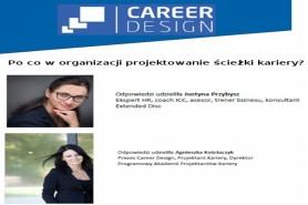 Po co w organizacji projektowanie kariery/doradztwo kariery?